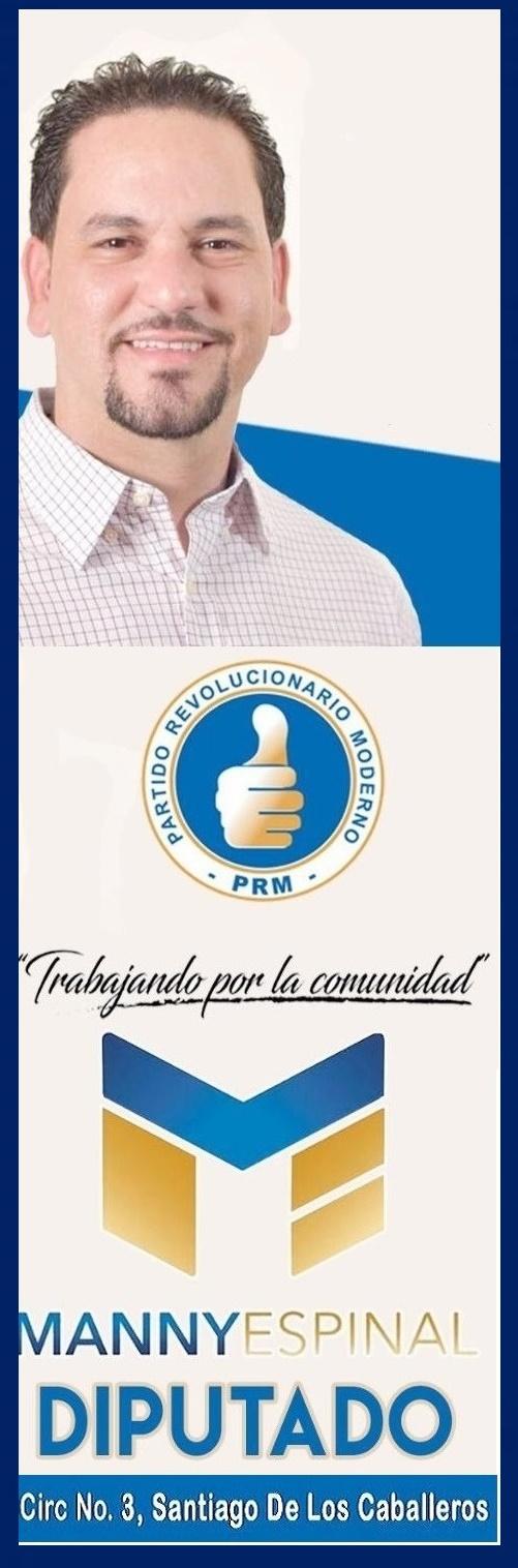 MANNY ESPINAL, TRABAJANDO POR LA COMUNIDAD