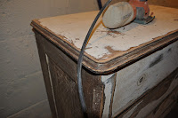 dresser renovation