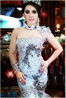 Dress Kebaya By Syahrini - BissKey Parabola