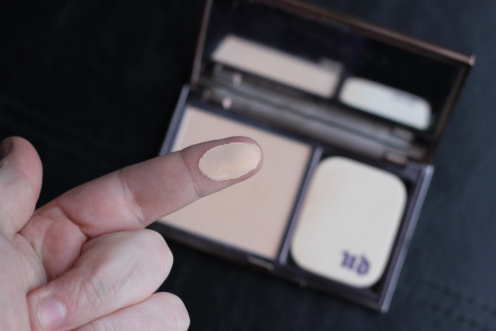 Urban Decay Ultra Definition Powder Foundation Swatch
