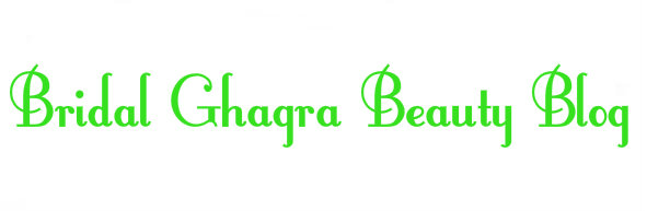 Bridal Ghagra Beauty Blog