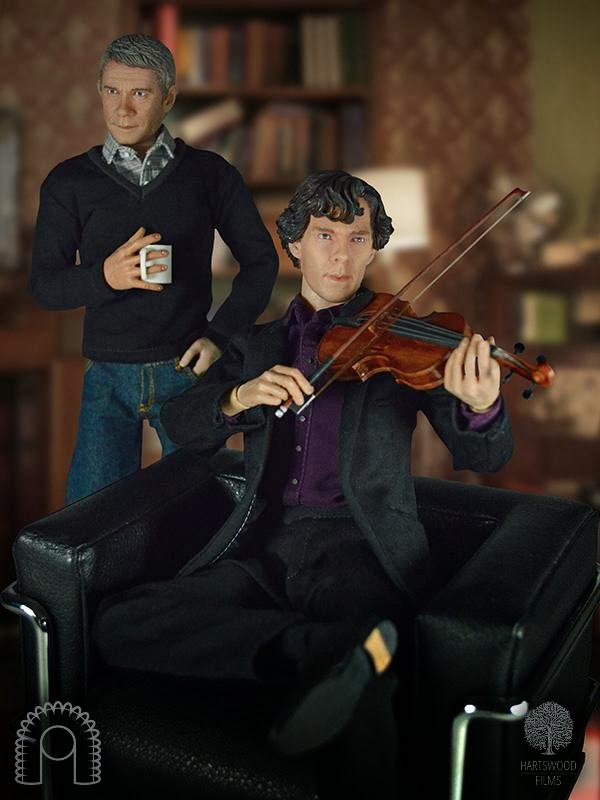 Sherlock Action Figures are True Collectibles - I Hear of Sherlock