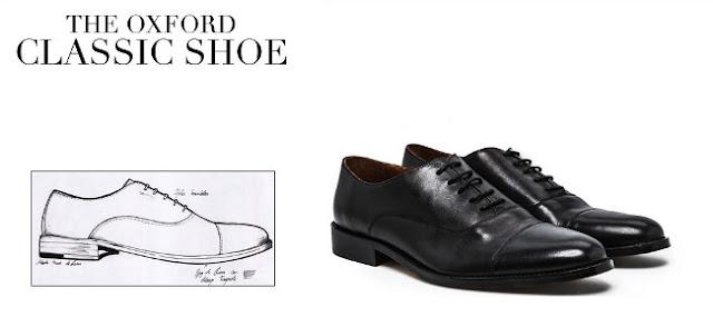 zapato oxford negro para el otoño 2013 mango