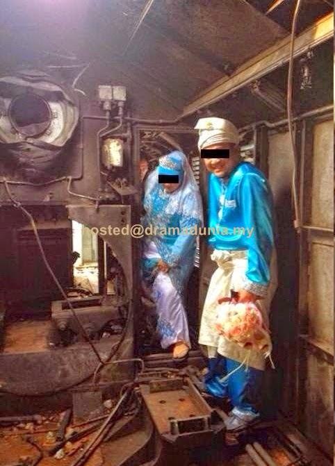Lembaga Seram Belakang Pengantin Dalam Kepala Keretapi Lama Gemas
