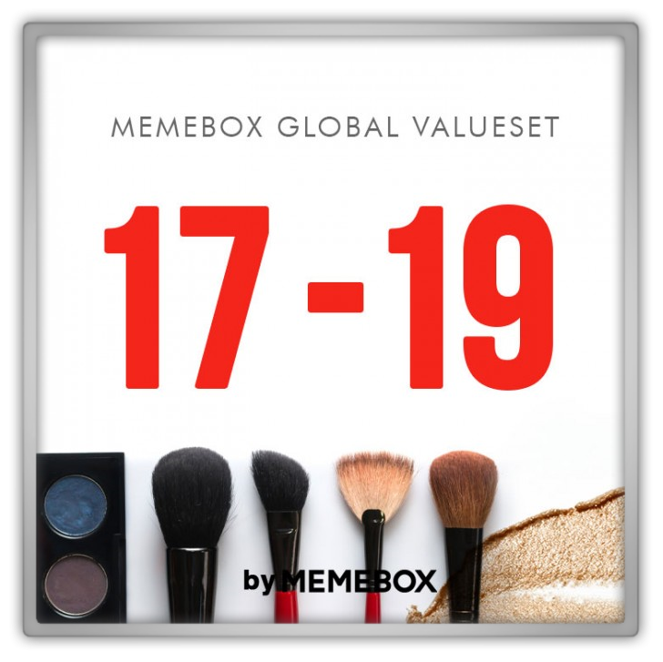 memebox global 17 18 19 value set sets 미미박스 Commercial