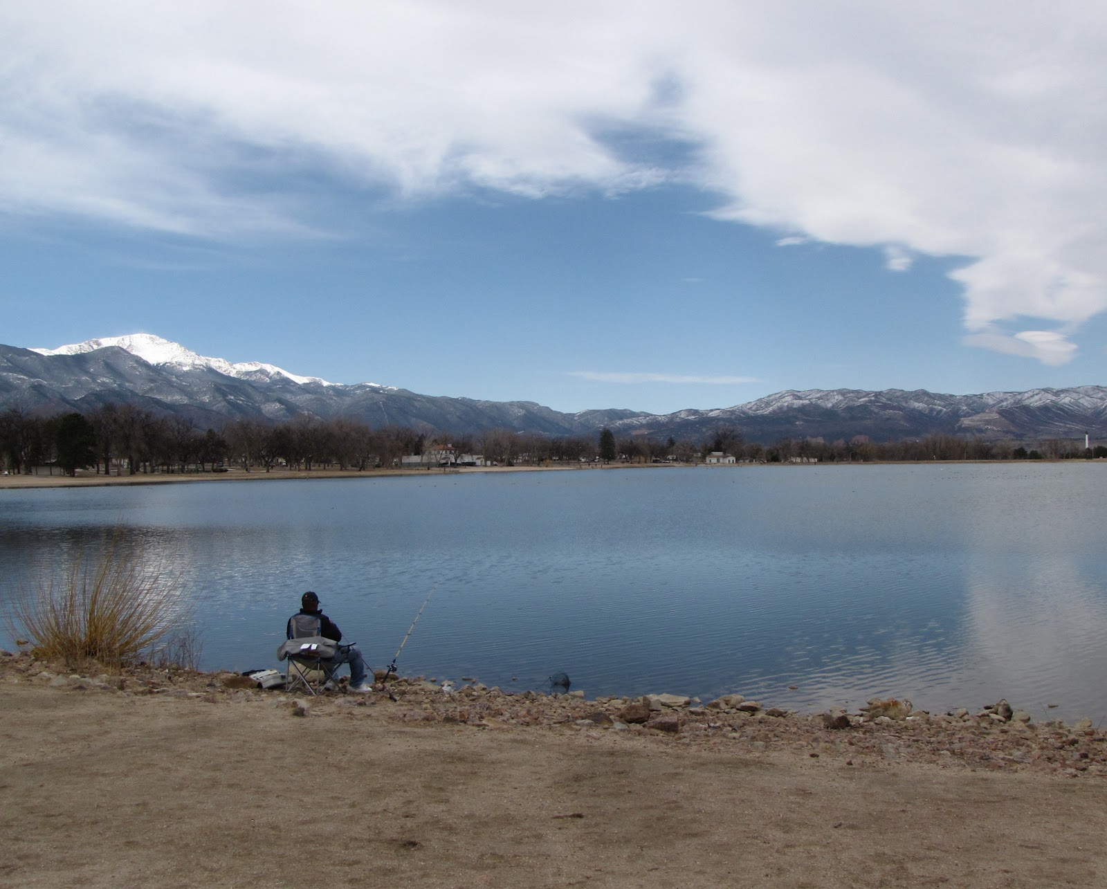 Sense of misplaced prospect lake for Fishing lakes in colorado springs