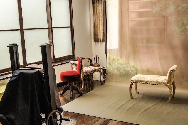 江戸東京たてもの園、常盤台写真場館内
