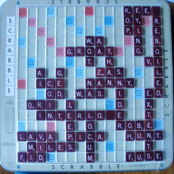 RududuS Semitropical Adventures A Winning Scrabble Team
