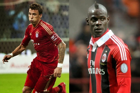 Player Comparasion: Mandzukic vs Balotelli