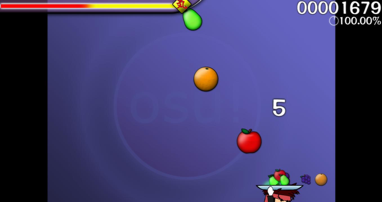 Diferentes modos de juego - Osu! 1425173-catch_the_beat