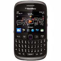 BlackBerry Smartfren 9310 - 512 MB - Hitam Abu-abu