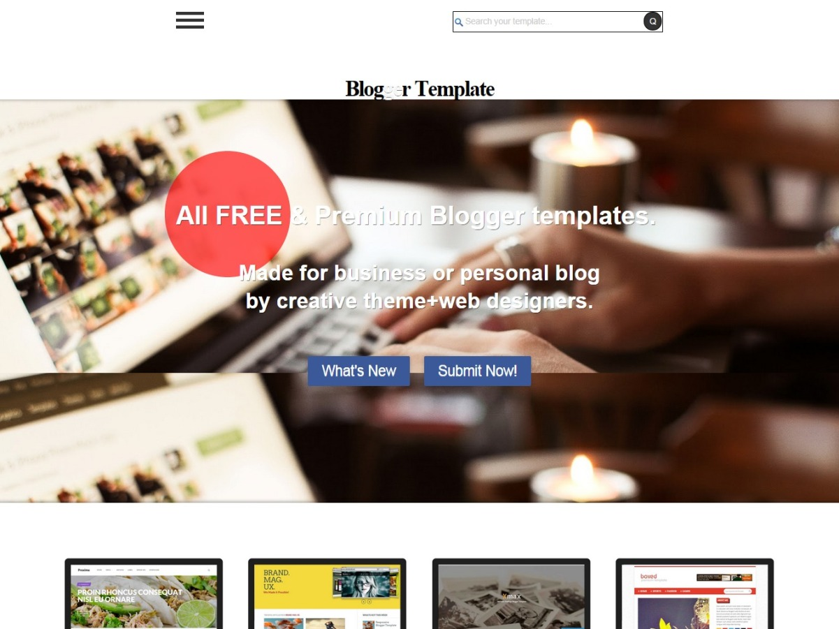 a better blogger theme template gallery by blogr templates