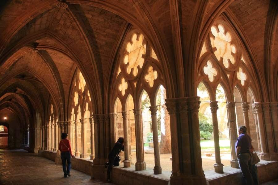 Gothic cloister of Veruela Monastery