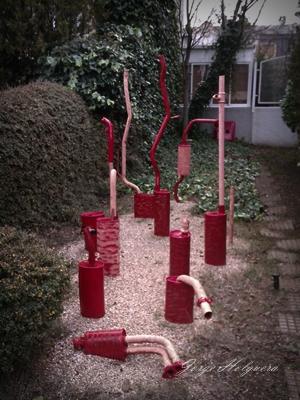El arte de la jardiner a materiales inertes Materiales para jardineria