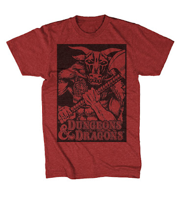 red d&d t shirt