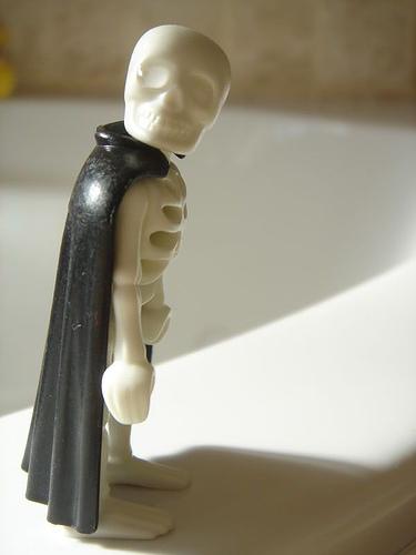 Esqueleto bizarro