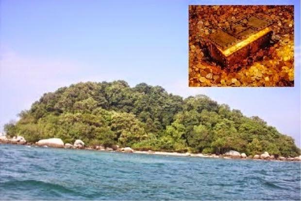 Artifak Ditemui Di Pulau Nangka Azimat Purba