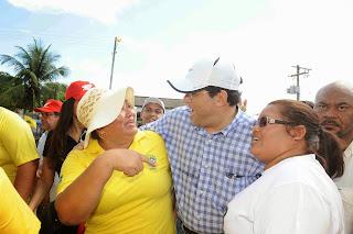 Eduardo Braga visita a calha do Rio Madeira