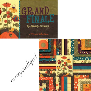 Moda GRAND FINALE Quilt Fabric by Sandy Gervais