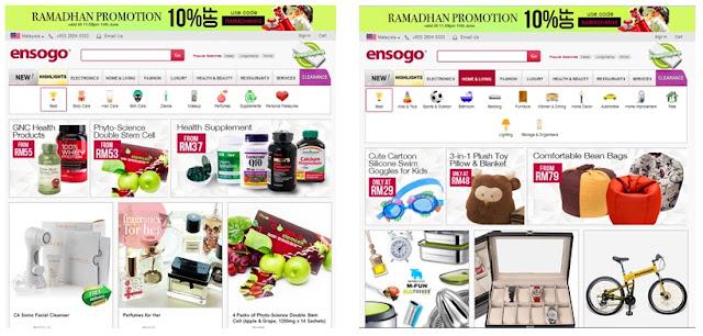 Ensogo Online Shopping Terhebat 5 Negara