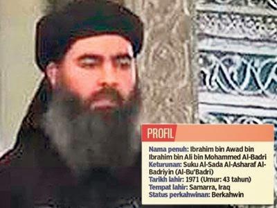 Biodata Pengasas ISIS / ISIL Abu Bakr al-Baghdadi