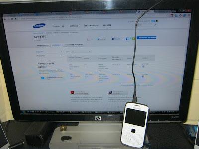 Samsung como modem