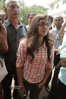 Nazriya-Nazim-at-Police-Commissioner-Office