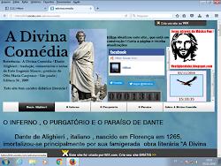 """""""A DIVINA COMÉDIA"""" EM SITE"""