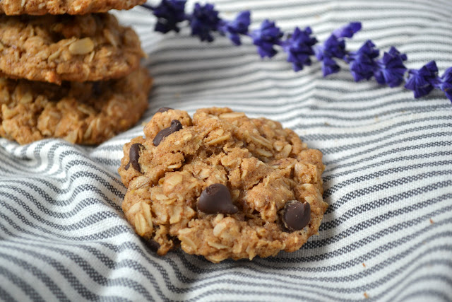 almond butter dark chocolate chip cookie recipe