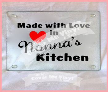 Made with Love Nonna's Cutting Board