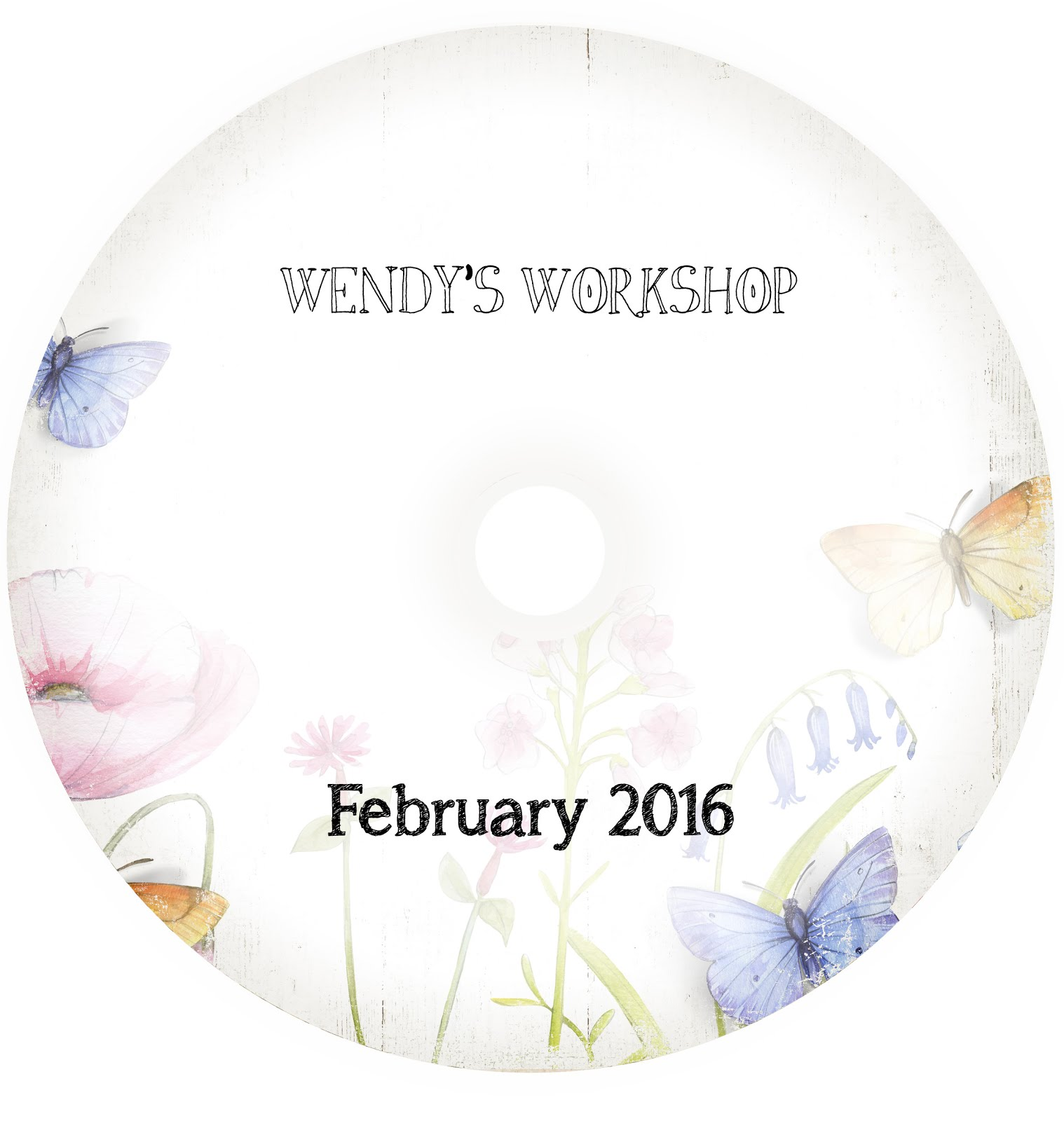 WENDY'S WORKSHOP CD FEBRUARY 2016 £8.00