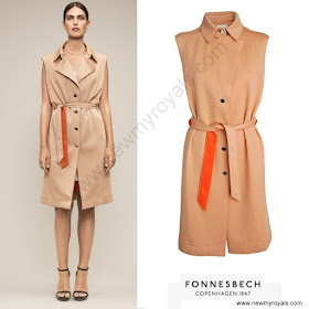 Crown Princess Mary FONNESBECH COPENHAGEN Dress