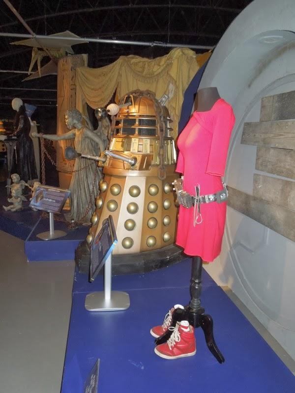 Asylum of the Daleks Doctor Who display
