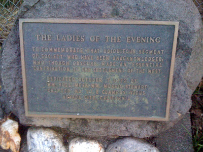 monument to ladies of the night