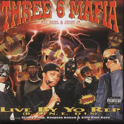 Three 6 Mafia - Live By Yo Rep (EP) (1995) Flac