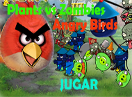 juegos plants vs zombies angry birds