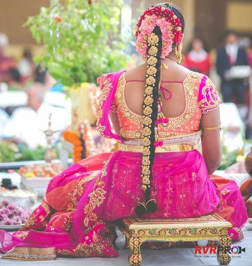 Bride in Shashi Vangaplly