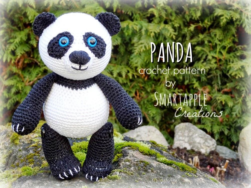 Амигуруми вязание крючком панда 893