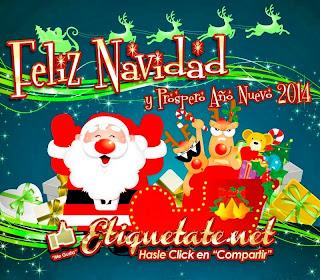 Frases De Año Nuevo: Feliz Navidad Y Próspero Año Nuevo 2014 Y Muchos Regalos