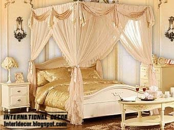 luxury canopy bed luxury bedroom designs - Luxurious Bed Designs