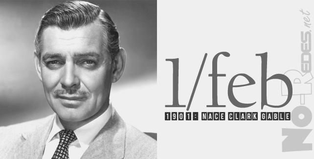 1901: Nace Clark Gable,