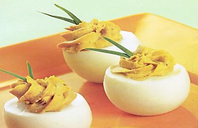 Cocinar Huevos Rellenos