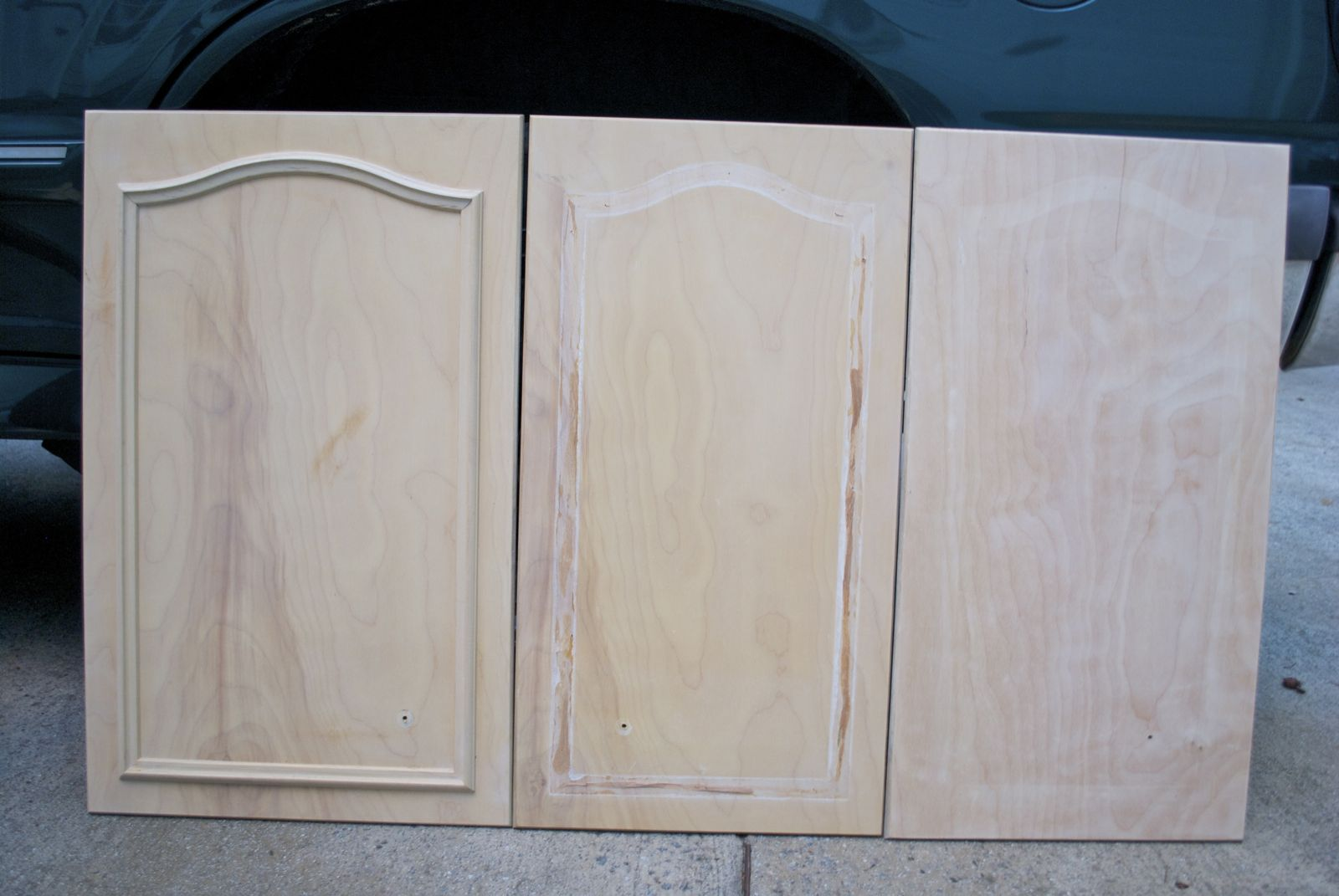 Adding molding to kitchen cabinet doors cabinet doors for Kitchen cabinets doors