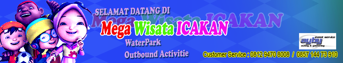 MEGA WISATA ICAKAN WATERPARK CIAMIS | OUTBOUND CIAMIS