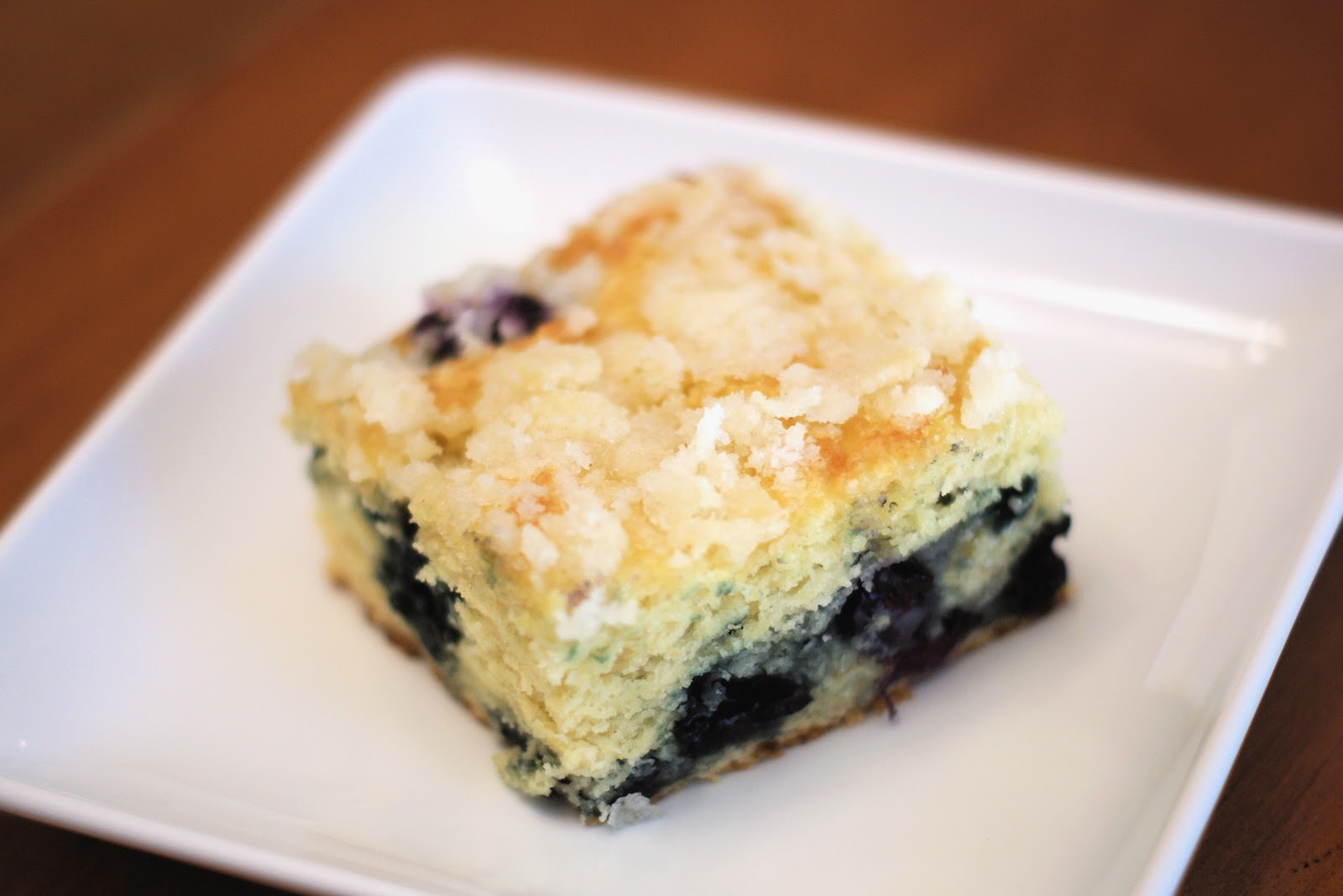 Lemon Blueberry Coffee Cake (GF) Recipe — Dishmaps