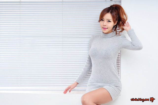 Seo Jin Ah Lovely in Piece Sweater