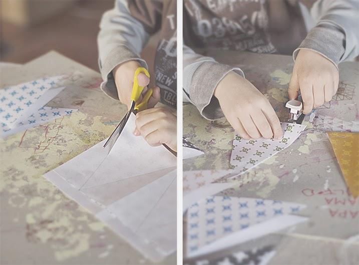 Garland flags - Cazadora de inspiración © Anna Tykhonova