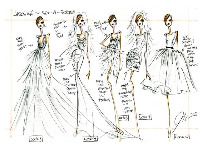 Дизайн одежды для журналов