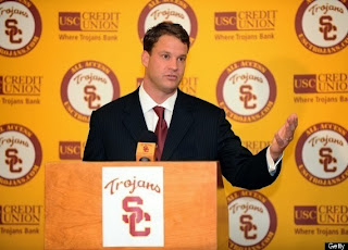 Lane Kiffin: USC Head Coach Fired By AD Pat Haden