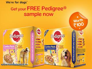 pedigree free sample